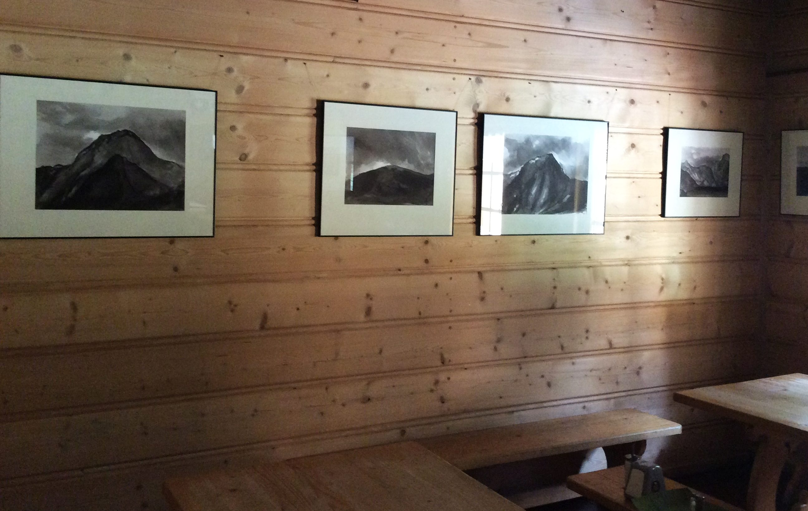 Exhibition at the Hostel Shelter in the Valley Roztoka, Tatra Mountains, 2019