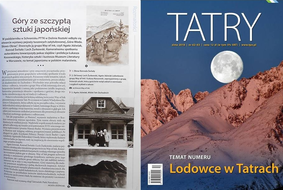 Article, magazine Tatry, 2018
