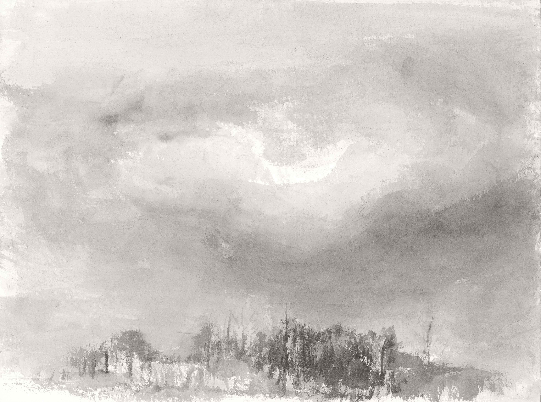 Autumn, 30x40cm, ink, paper, 2017