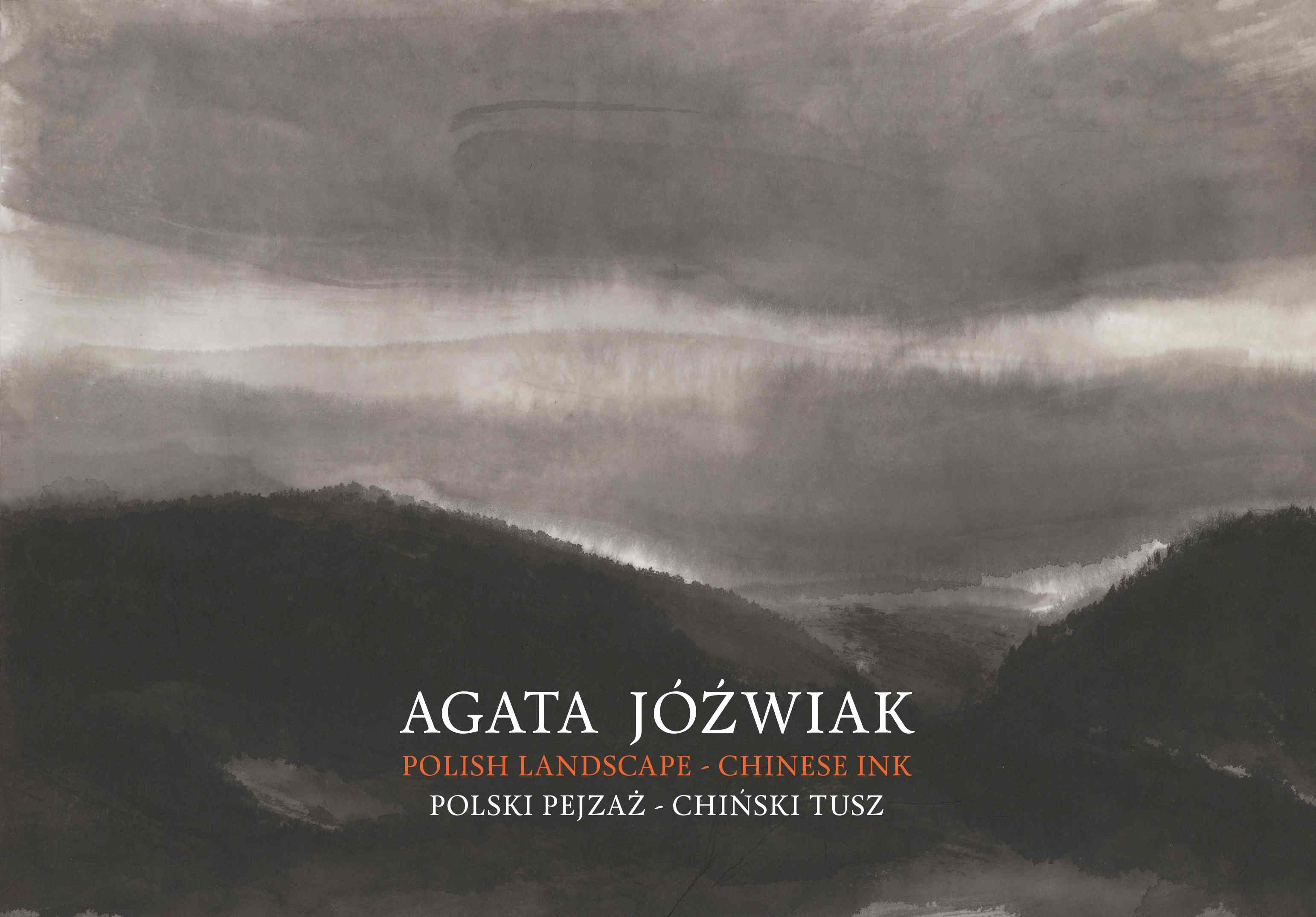 Catalogue from the exhibition Polish landscape-chinese ink, The Asia and the Pacific Museum, 2018