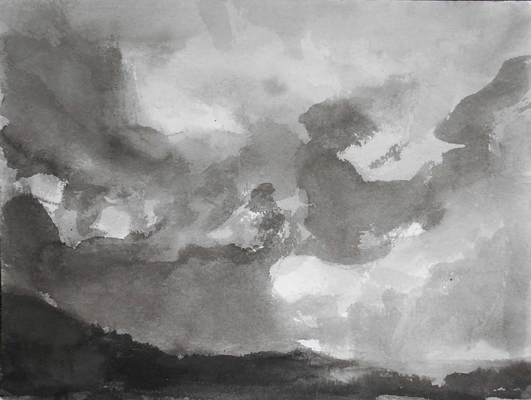 From Podlasie Region (Poland), 30x40cm, ink, paper, 2018