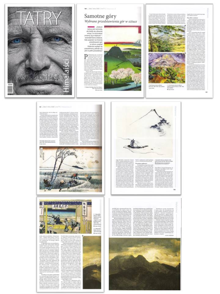 Article: Lonely mountains, magazine Tatry TPN, 2020