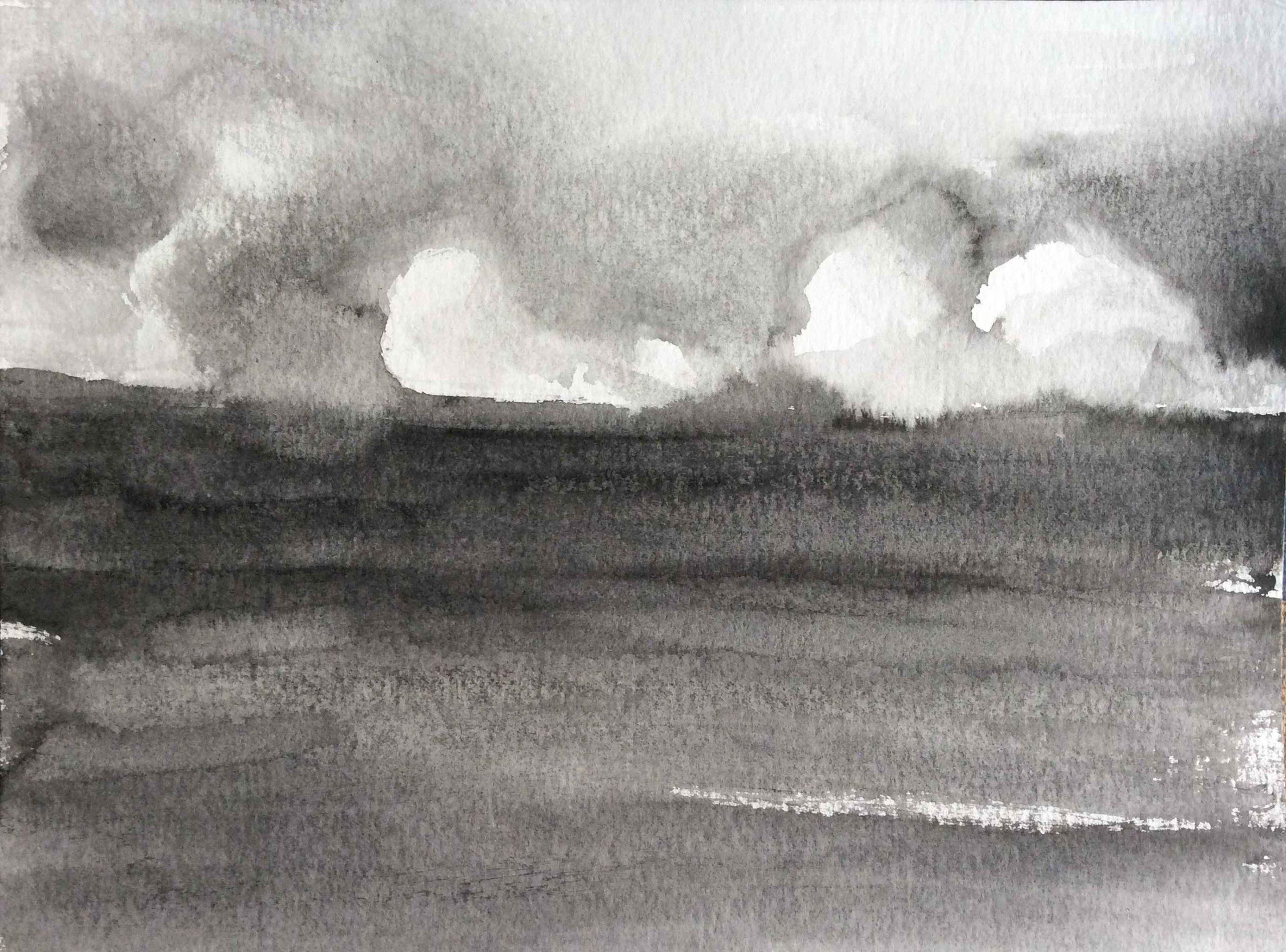 No title, 30x40cm, ink, paper, 2020