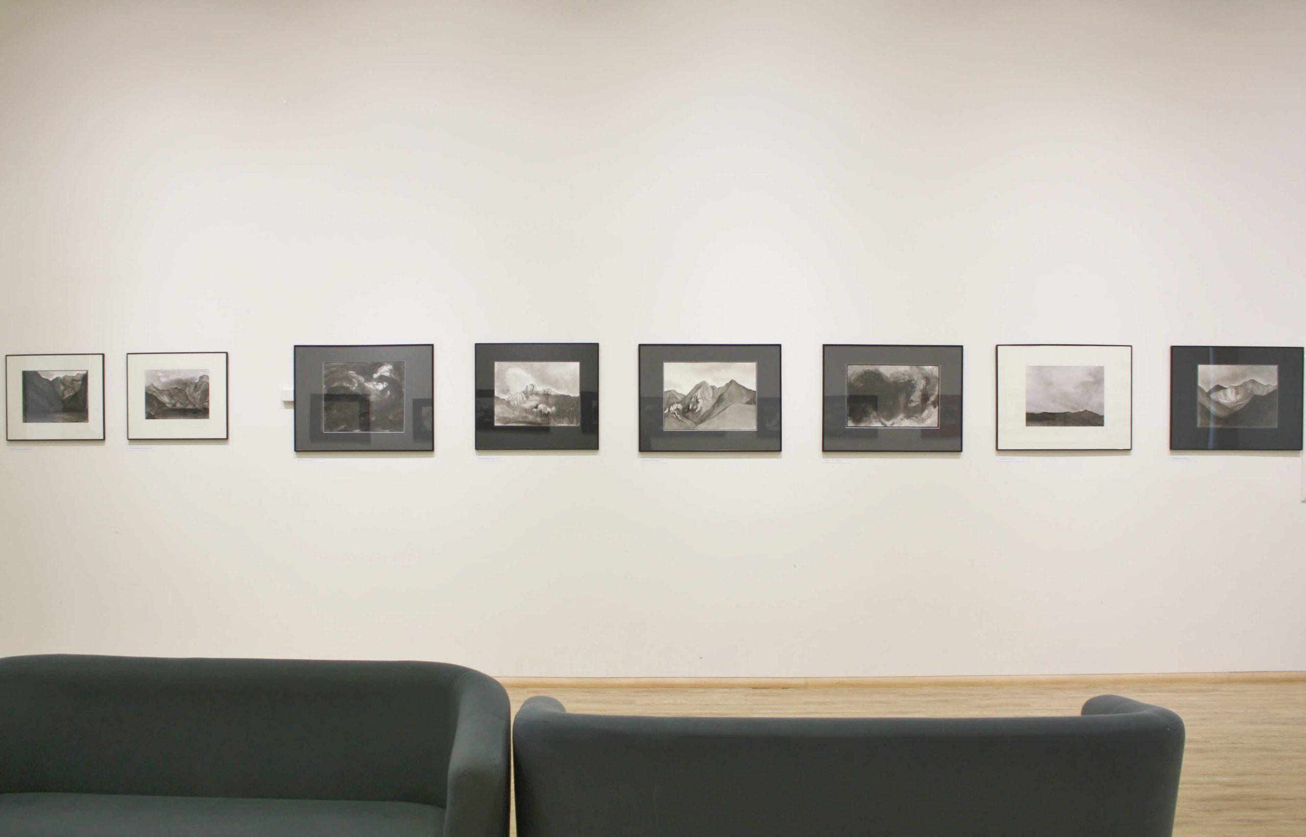Exhibition at the Library Gallery of Kazimierz Wielki University, Bydgoszcz, 2020