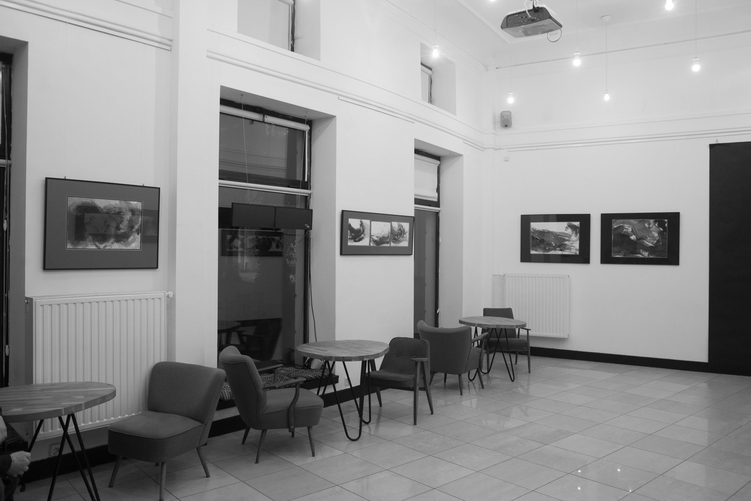Exhibition at Stacja Muranów, Warsaw, 2017