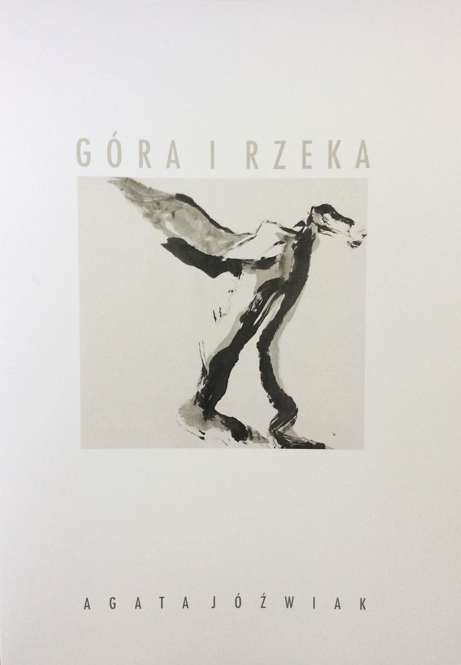 Catalogue from exhibition Mountain and River, Galeria pod Arkadami, Łomża